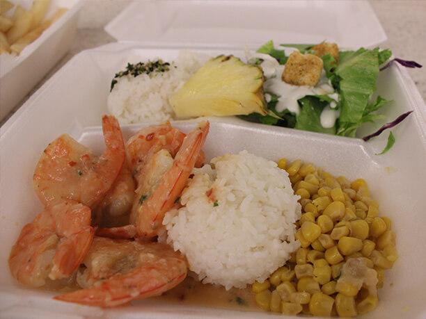 海鮮とご飯