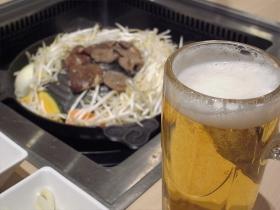 ジンギスカンとビール