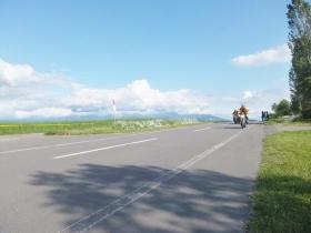 まっすぐな道路