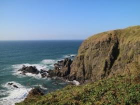太平洋と岬