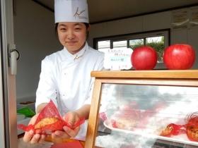 地元産りんご使用のアップルパイ