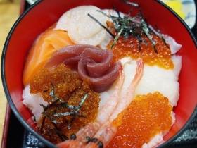 海鮮丼のおいしいネタ