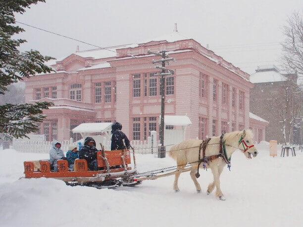 北海道開拓の村 冬の生活体験