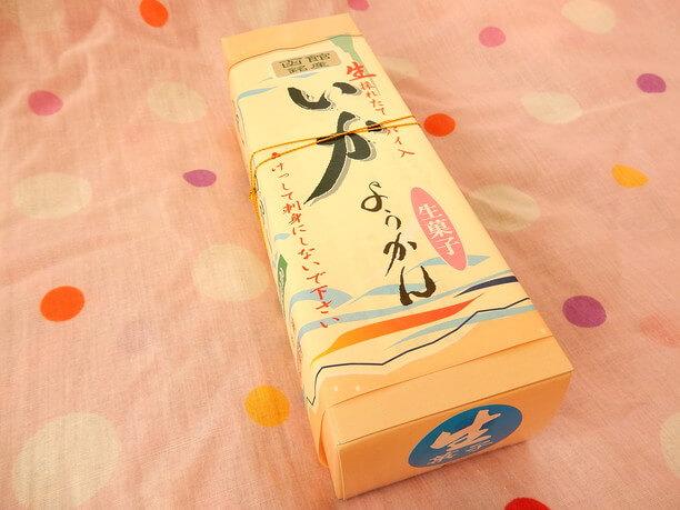 和洋菓子の柳屋が作る「イカようかん」