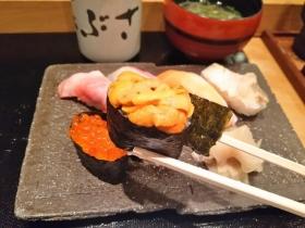 「花ぶさ」の本格にぎり寿司