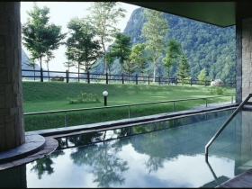 渓谷露天風呂「天華の湯」