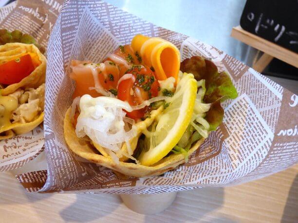 イタリアの軽食「ピアディーナ」(
