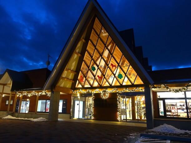 「北欧のクリスマス」を意識したイルミネーション