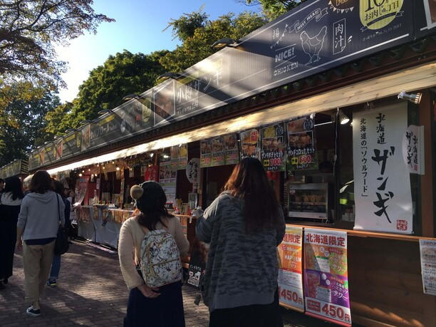「おいしいもの」が集まる札幌・大通公園