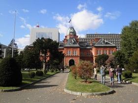 北海道庁旧本庁舎の庭