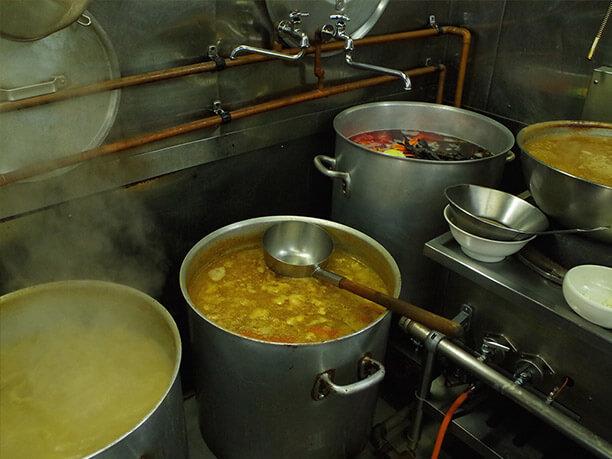 初代のスープ