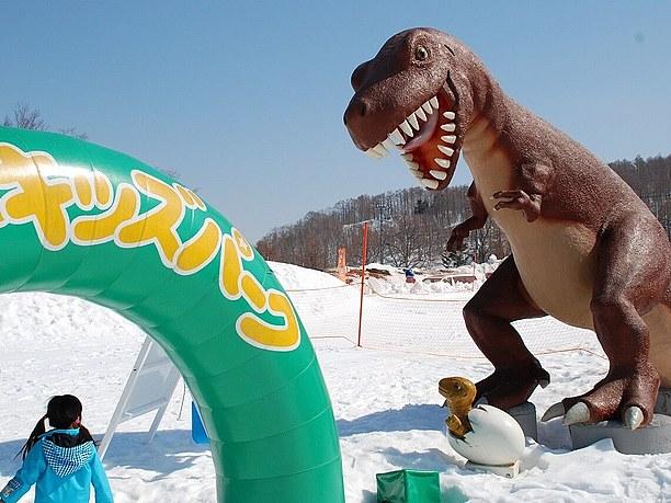 「恐竜キッズパーク(入場料800円)」