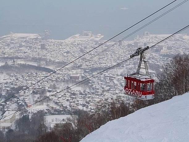 絶景の天狗山スキー場