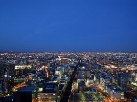 展望室からの夜景