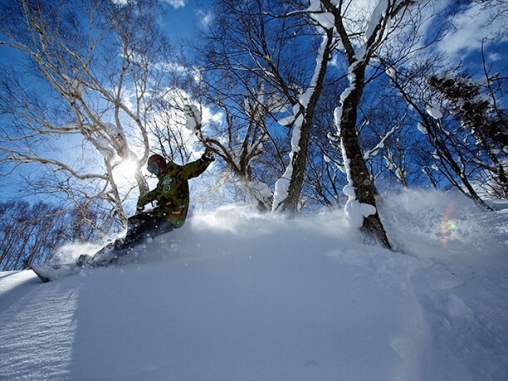 積雪量は北海道随一