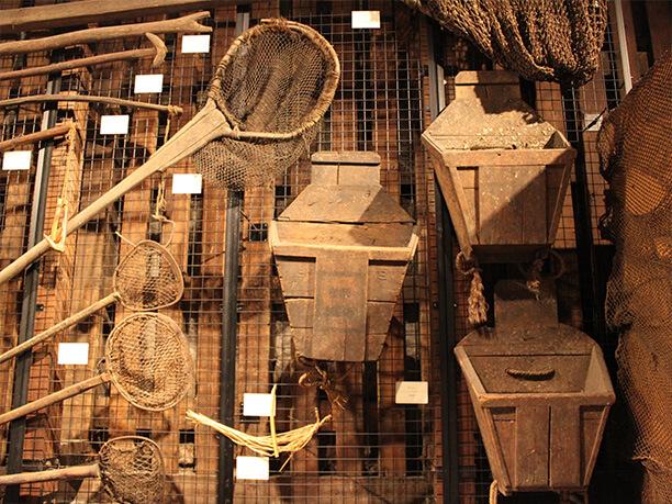 ニシン漁に使われた道具