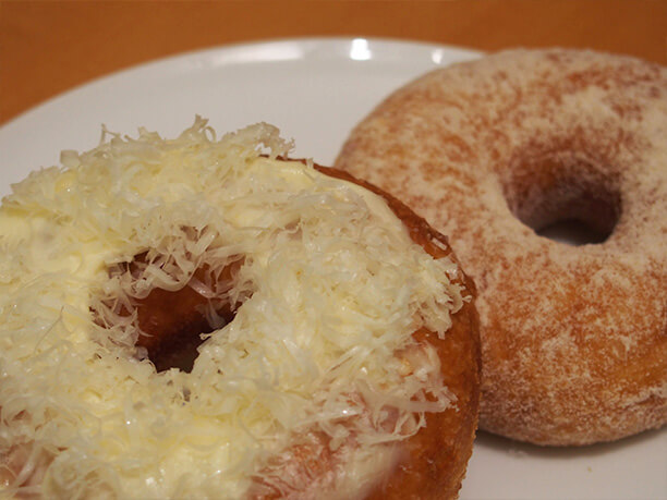 自家製ドーナツ