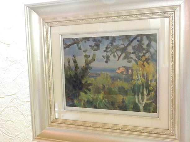 国松登さんの油絵