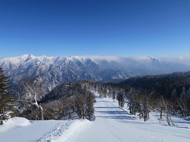 目の前に広がる大雪山