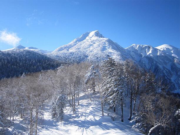 黒岳のピーク
