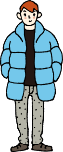 冬の北海道の服装