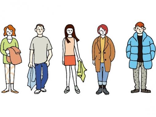 北海道の服装