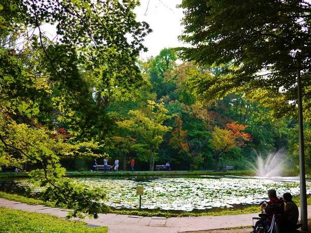 自然豊かなキャンパス