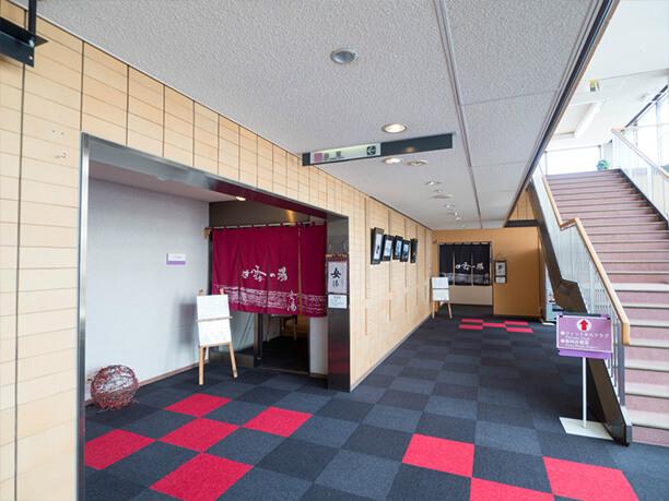 浴場の入口