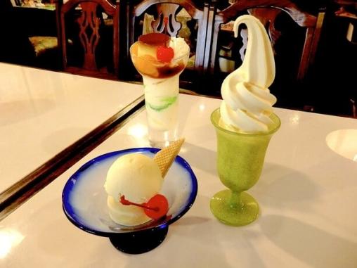 パーラー美園のアイスクリーム