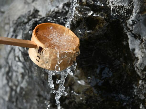 延命長寿の水