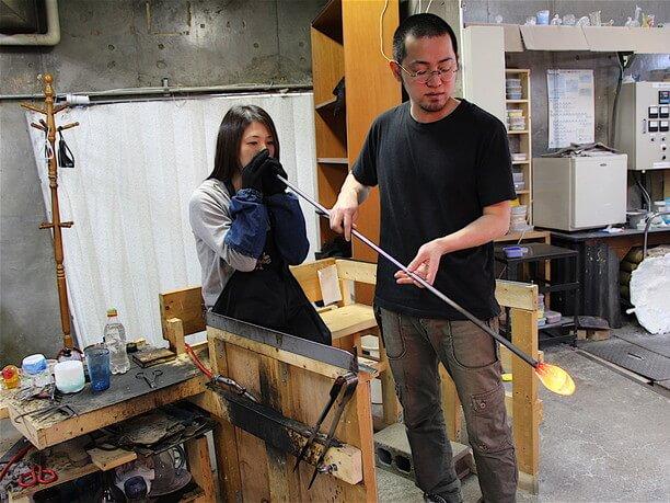 工房チーフの永田さん