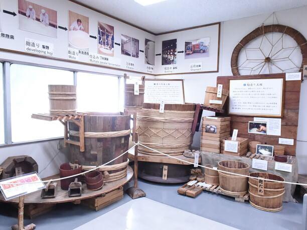 昭和初期に使われた酒造りの道具