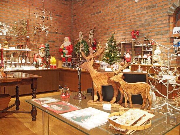 クリスマスをテーマにしたお店