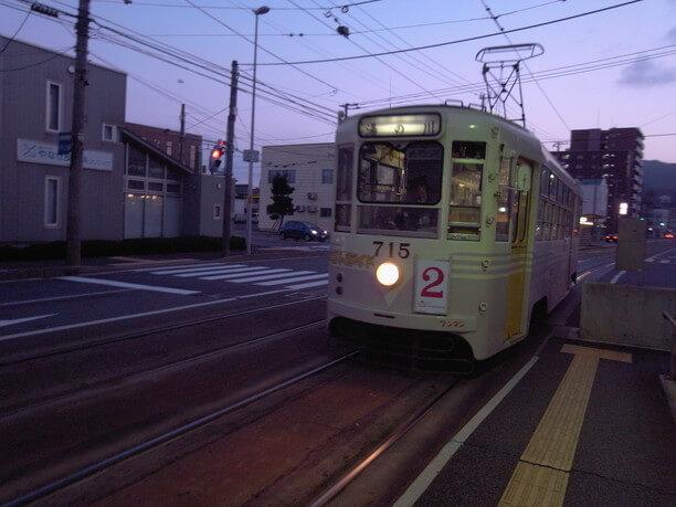 函館の市電