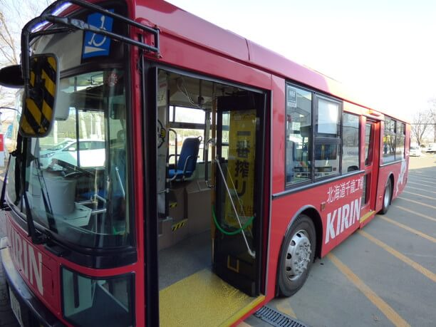 乗り降りしやすいバス