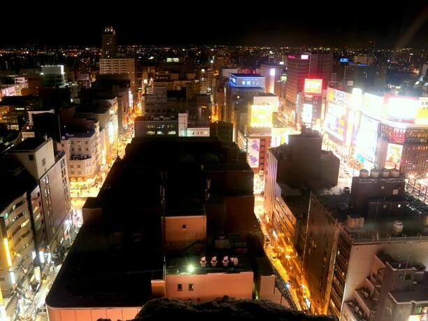 ノリアから見た夜景
