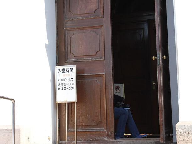 聖堂のドア