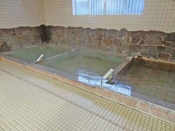 かけ流しの温泉