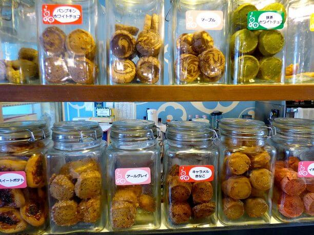 様々なクッキー