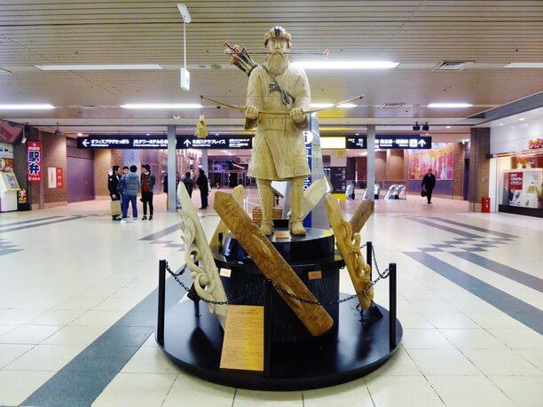 アートモニュメント「ウレシパモシリ北海道イランカラプテ像」