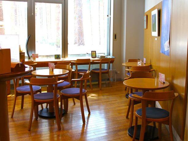 かわいい喫茶室