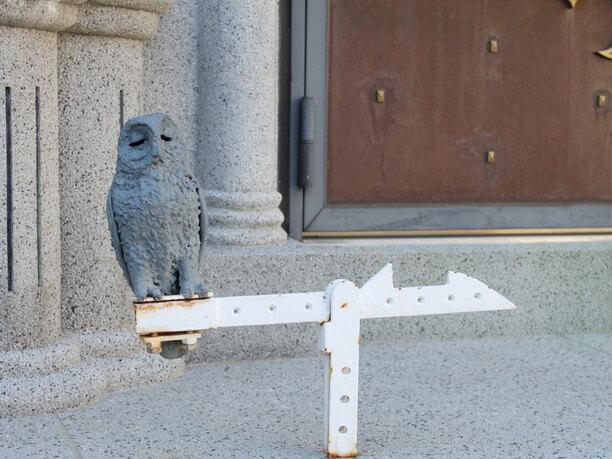 扉と風見鳥