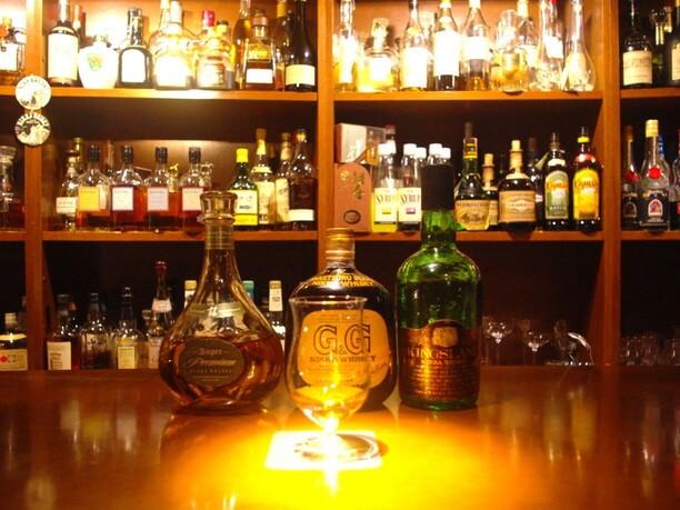 オーダーボトルのウイスキー