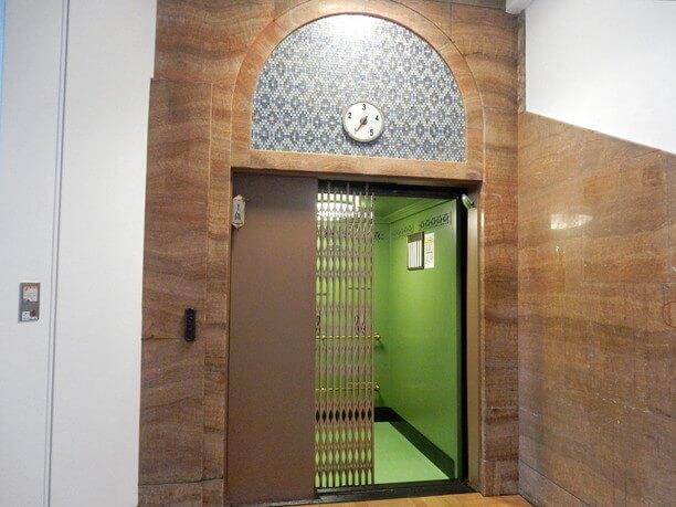 東北以北で最も古いエレベーター