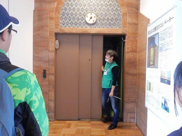 現役のオーチス製エレベーター