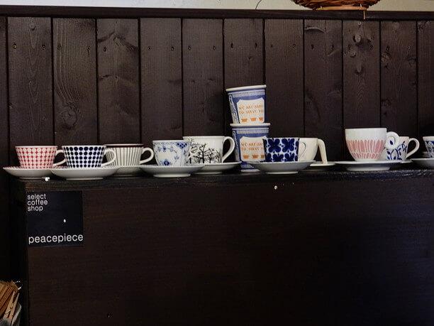 様々なコーヒーカップ
