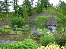 小さなかわいい小屋