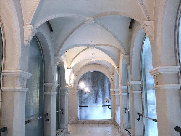 「氷の回廊」ゾーン