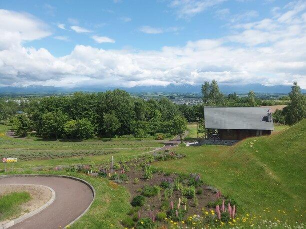 北西の丘展望公園からの景色