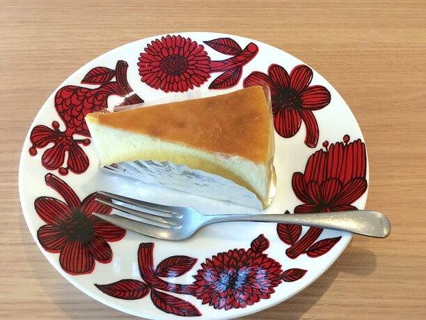 ニューヨークタイプの濃厚なチーズケーキ